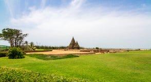 Mahabalipuram - ναός ακτών Στοκ φωτογραφίες με δικαίωμα ελεύθερης χρήσης