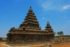mahabalipuram ναός βράχου Στοκ Φωτογραφίες