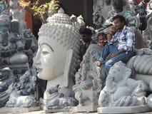 Mahabalipuram Lizenzfreie Stockfotos