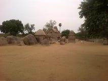 Mahabalipuram Arkivfoton