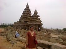 Mahabalipuram Arkivfoto