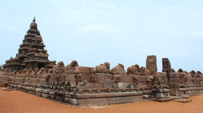 Mahabalipuram beach temple Stock Photo