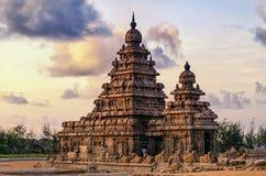 Mahabalipuram-Monumente stockbilder