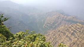 Mahableshwar. Point hills beauty of nature Stock Images