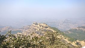 Mahableshwar. Point hills beauty of nature Royalty Free Stock Photography