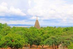 Mahabodhi świątynia, Bagan, Myanmar Zdjęcie Stock