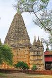 Mahabodhi świątynia, Bagan, Myanmar Obraz Stock