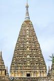 Mahabodhi świątynia, Bagan, Myanmar Obrazy Stock