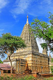 Mahabodhi świątynia, Bagan, Myanmar Fotografia Stock
