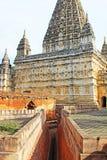 Mahabodhi świątynia, Bagan, Myanmar Zdjęcia Stock