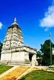 Mahabodhi świątynia, bodh gaya, India Miejsce dokąd Gautam Buddha Obrazy Royalty Free