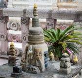 Mahabodhi Świątynny kompleks w Gaya, India Fotografia Stock