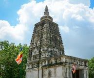 Mahabodhi Świątynny kompleks w Gaya, India Zdjęcia Royalty Free