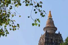 Mahabodhi  Bodh Gaya temple. India Stock Image