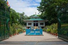 Mahabodhi-Gesellschaft Sarnath Stockbild