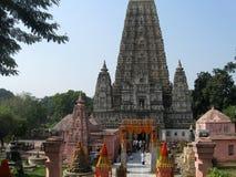 Great Buddha Mahabodhi Mahavihara Temple World Heritage Property. Mahabodhi Mahavihara Temple Bodhgaya India. commemorates the place where Siddhartha Gotama royalty free stock image