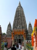 Great Buddha Mahabodhi Mahavihara Temple BodhGaya India stock images