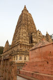Mahabodhi temple Stock Photography