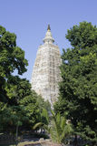 Mahabodhi Temple at Bodhgaya, India. The Mahabodhi Temple at Bodhgaya, India Stock Photography