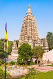 Mahabodhi Temple, Bodhgaya. Bodh Gaya is a religious site and place of pilgrimage associated with the Mahabodhi Temple Complex in Gaya district in the state of Stock Photos