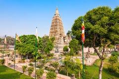 Mahabodhi Temple, Bodhgaya. Mahabodhi Temple Complex in Gaya district in the state of Bihar, India Stock Images