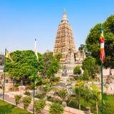 Mahabodhi Temple, Bodhgaya Stock Photos