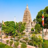 Mahabodhi Temple, Bodhgaya. Mahabodhi Temple Complex in Gaya district in the state of Bihar, India Stock Photos