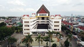 Mahabodhi Vidya School, Jakarta. Indonesia stock photos