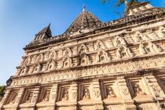 Mahabodhitempel in Bagan, Myanmar stock foto
