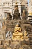 Mahabodhy Temple. In Bodhgaya, Bihar, India Royalty Free Stock Image