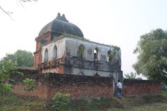 Mahadev mandir 库存图片