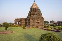 Mahadeva-Tempel, Itgi, Karnataka-Staat, Indien Lizenzfreie Stockbilder