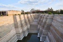 Mahadeva tempel, Itgi, Karnataka stat, Indien Arkivfoto
