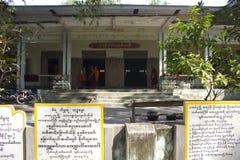 Mahagandayon Monastery in  Ho Chi Minh City: Mahagandayon Monastery, Amarapura, Myanmar Stock Photos