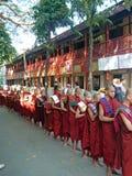 Mahagandhayonklooster Stock Afbeelding