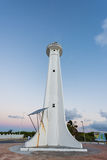 Mahahual Lighthouse in Mexico Stock Photos