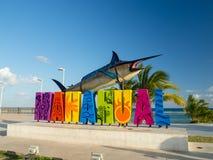Mahahual, Mexico, Zuid-Amerika: [Mahahual-Strand, aan stock afbeeldingen