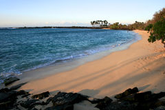 Mahaiula strand arkivbilder