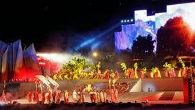 Mahajanaka el Phenominon Live Show para leal el rey Imagen de archivo libre de regalías