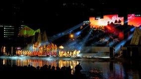 Mahajanaka the Phenominon Live show Stock Images