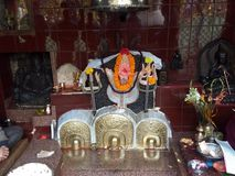 Mahakal shiv bhole baba zdjęcia stock