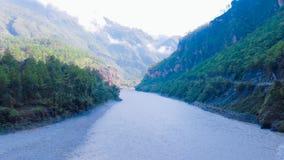 Mahakali flod fotografering för bildbyråer