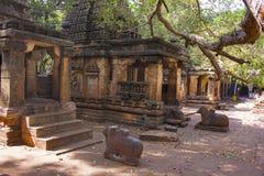 Mahakuta Temples, Badami, Karnataka. 6th or 7th century CE constructed by the early kings of the Chalukya dynasty royalty free stock photos