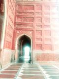 mahal μουσουλμανικό τέμενος taj Στοκ Φωτογραφίες