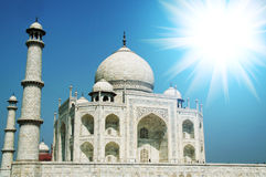 mahal παλάτι taj στοκ εικόνα με δικαίωμα ελεύθερης χρήσης