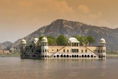 mahal india jaipur jal Royaltyfri Fotografi