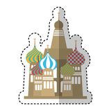 mahal isolerad symbol för taj royaltyfri illustrationer