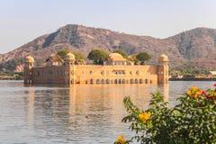 mahal Jaipur jal obrazy royalty free