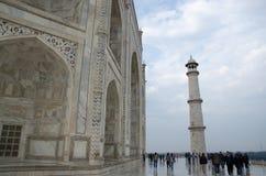 mahal pradesh της Ινδίας agra taj uttar Στοκ Φωτογραφία
