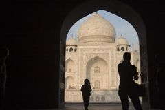 mahal taj της Ινδίας agra Στοκ εικόνα με δικαίωμα ελεύθερης χρήσης
